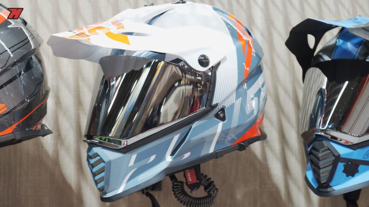 Así luce el nuevo casco adventure de LS2
