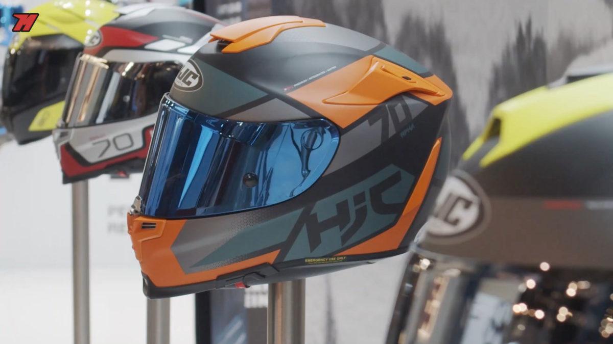 Nuevo casco HJC en el Eicma.