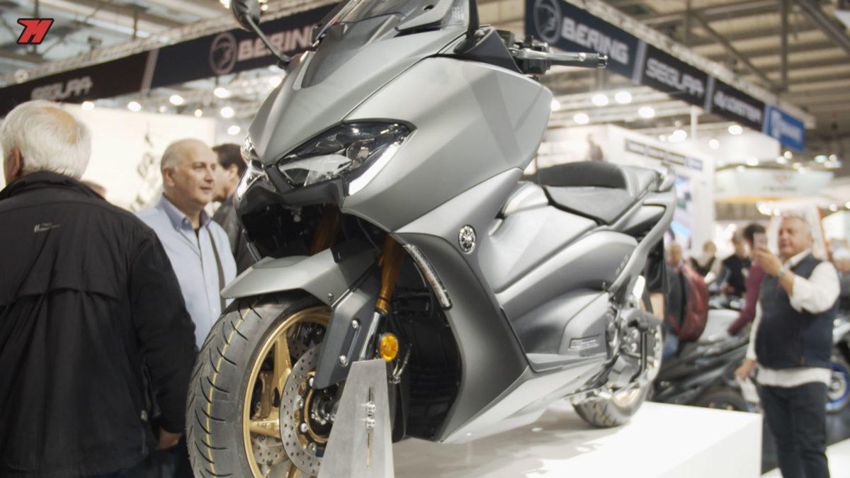 la nueva Yamaha T-Max es la más potente de la historia.