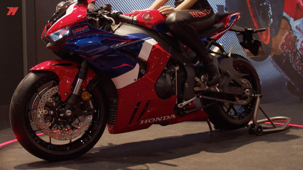 Esta es la nueva Fireblade de Honda para competir en el Mundial de SBK.