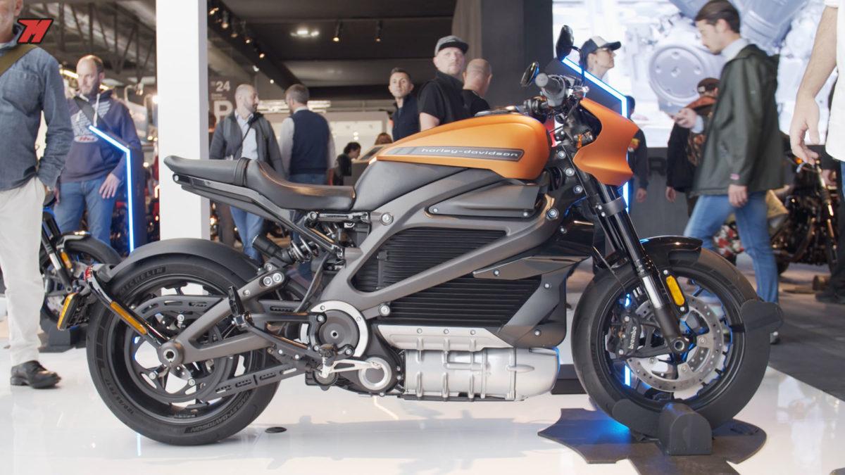 Esta es la primera moto eléctrica de Harley-Davidson.