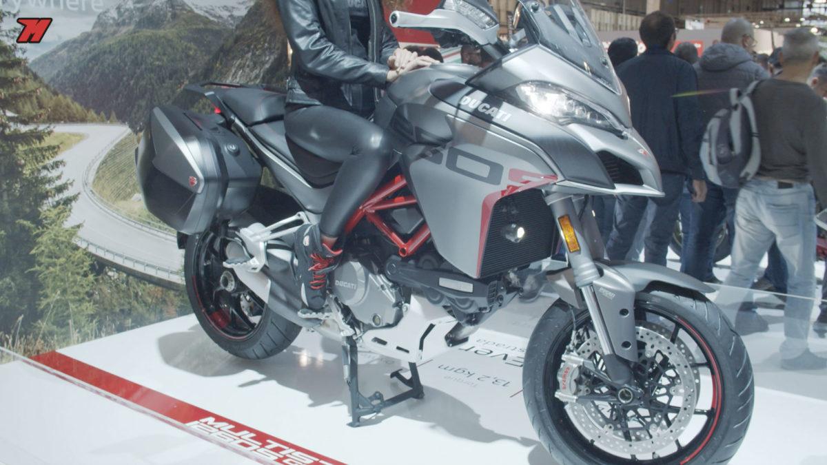 La nueva Ducati Multistrada 1260 GT luce espectacular.