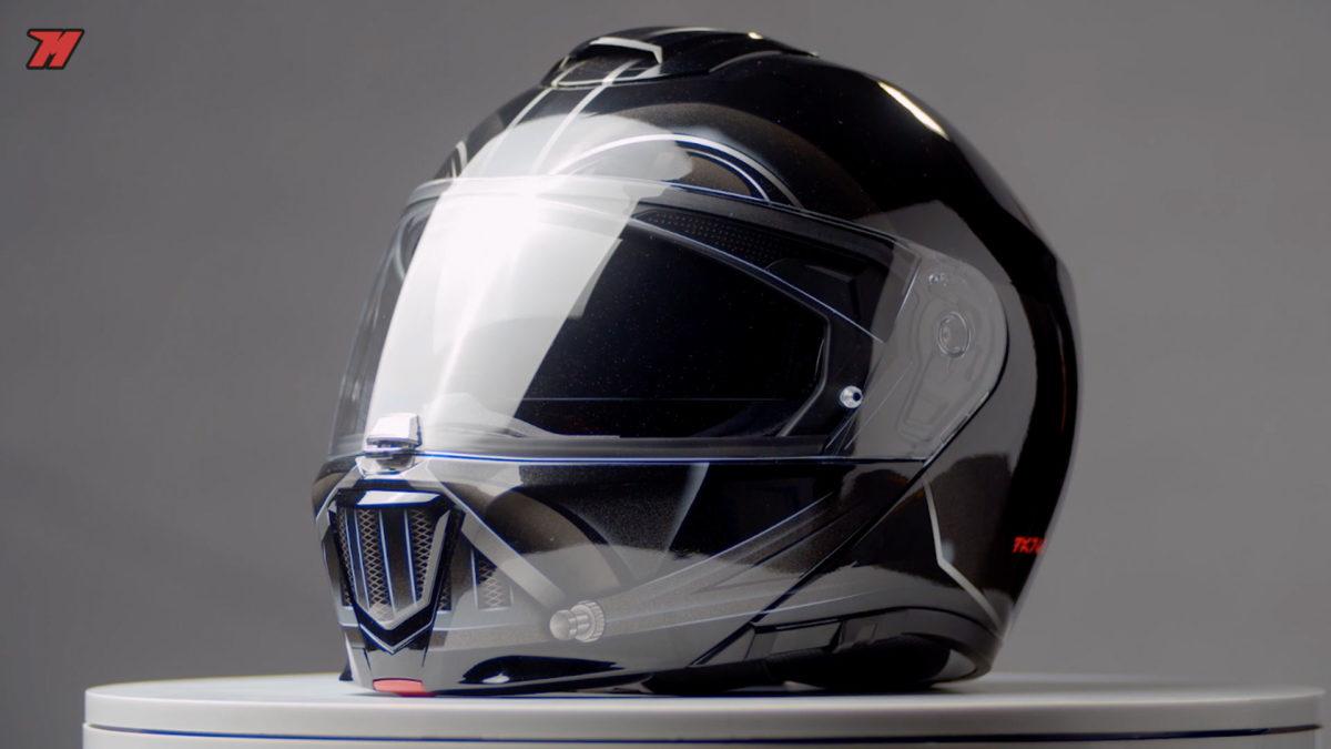 Si buscas un casco de moto para scooter, uno que sea modular también es otra buena opción.