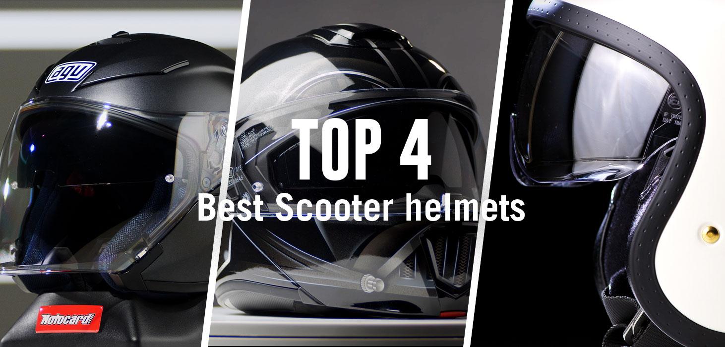 Top 4 Best Scooter Helmets Best Motorcycle Helmets Of 2019 Motocard