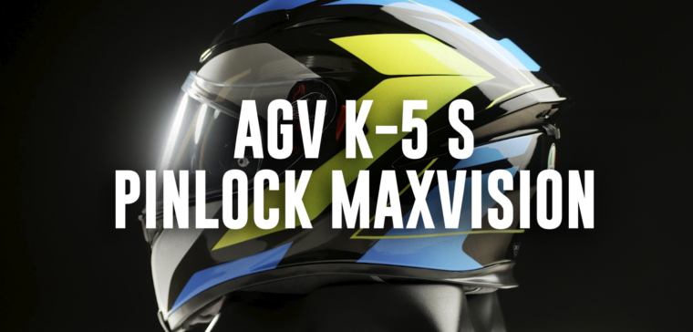 New motorcycle helmet AGV K-5 S MaxVision, now with a bigger screen