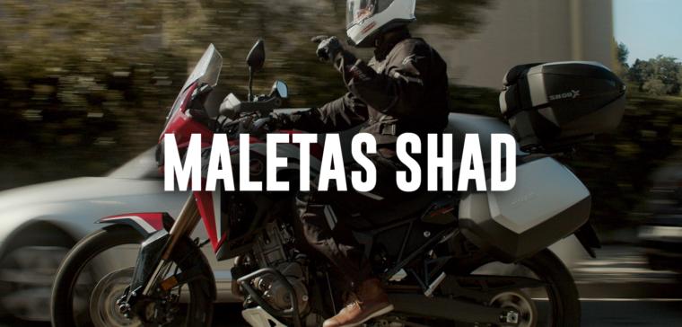 Análisis en vídeo de las maletas para moto Shad.