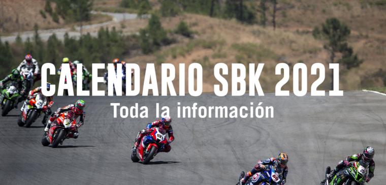 Descubre el nuevo calendario de SBK 2021