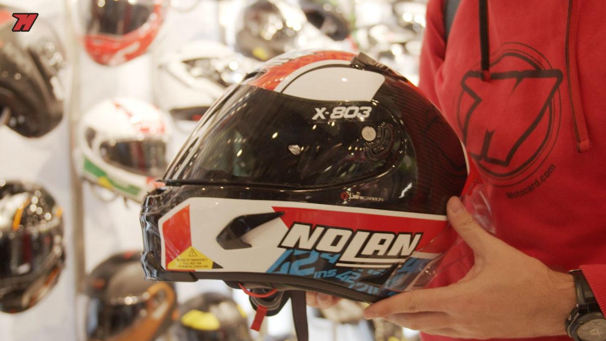 Este es el casco de Álex Rins