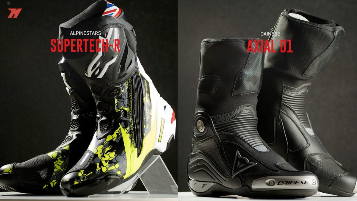 Las mejores botas de moto para circuito.