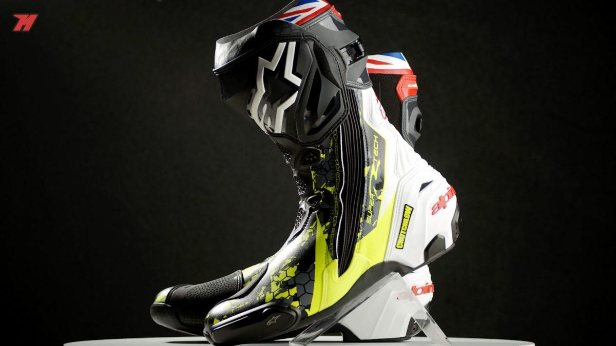 las Alpinestars Supertech-R son las botas de Marc Márquez y Carl Crutchlow.