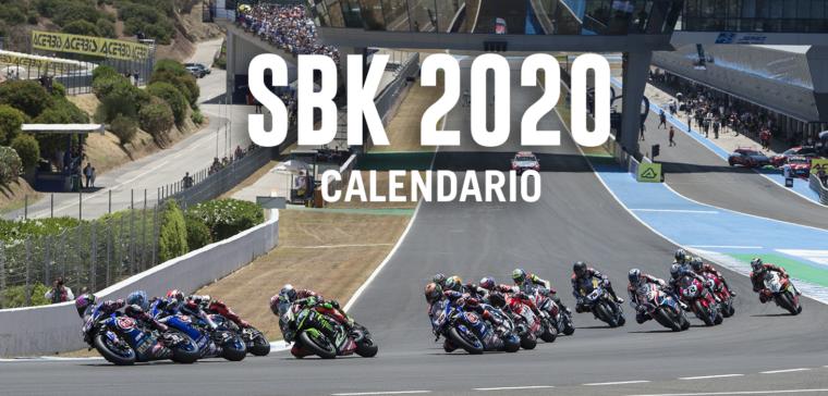 Este es el calendario del World Superbike 2020. ¿Quién ganará?