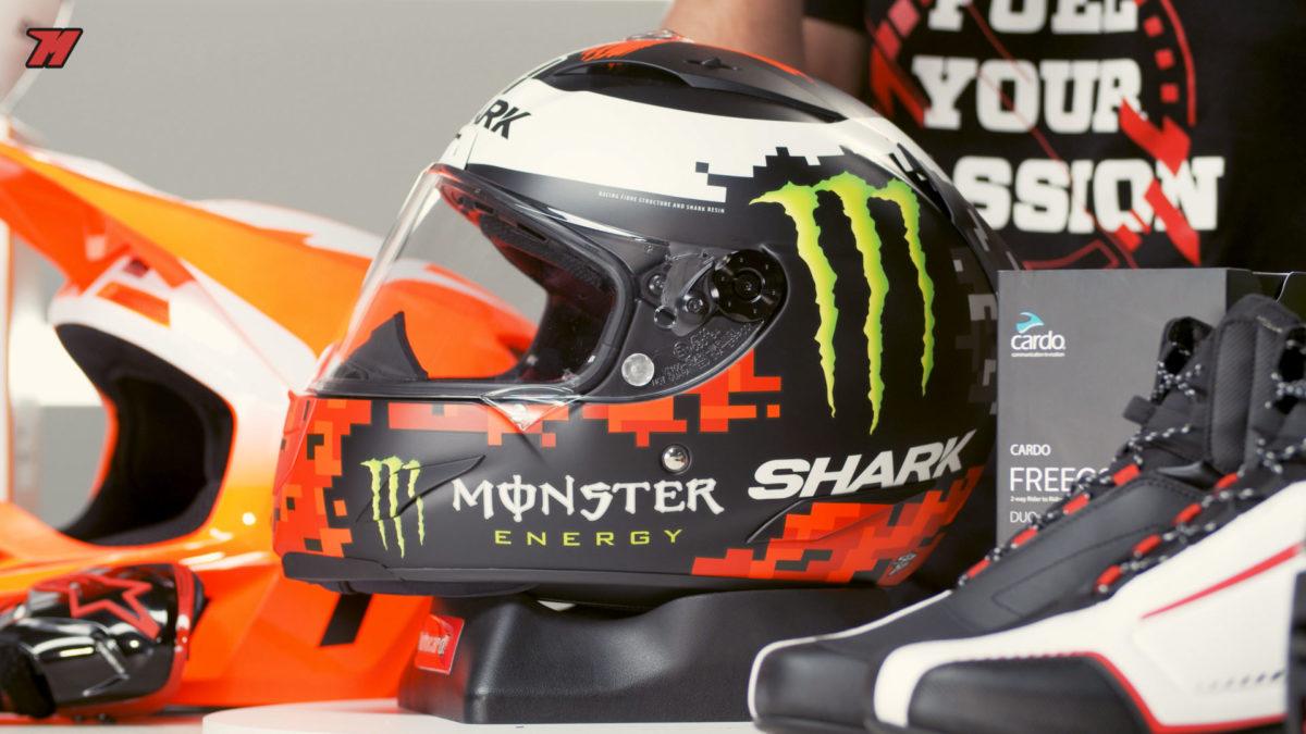 Este casco Replica de Lorenzo está con un precio rebajado en Motocard