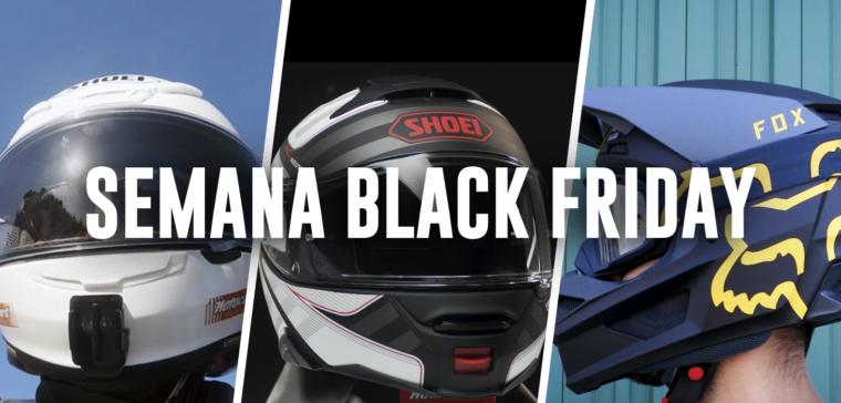 Te explicamos cuáles son las mejores ofertas en cascos de moto en la semana del Black Friday
