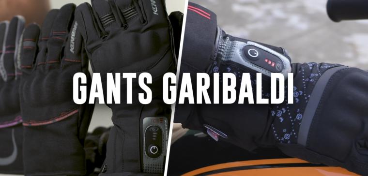 Gants moto hiver Garibaldi, découvrez la collection 2019