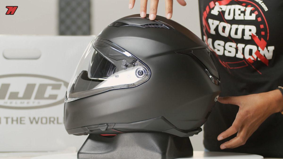 Así es el nuevo casco de HJC