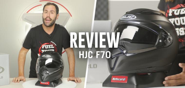 Nuevo casco de moto HJC F70, el próximo casco sport-touring superventas