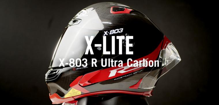 Así es el casco X-lite X-803 RS Ultra Carbon, puro instinto racing