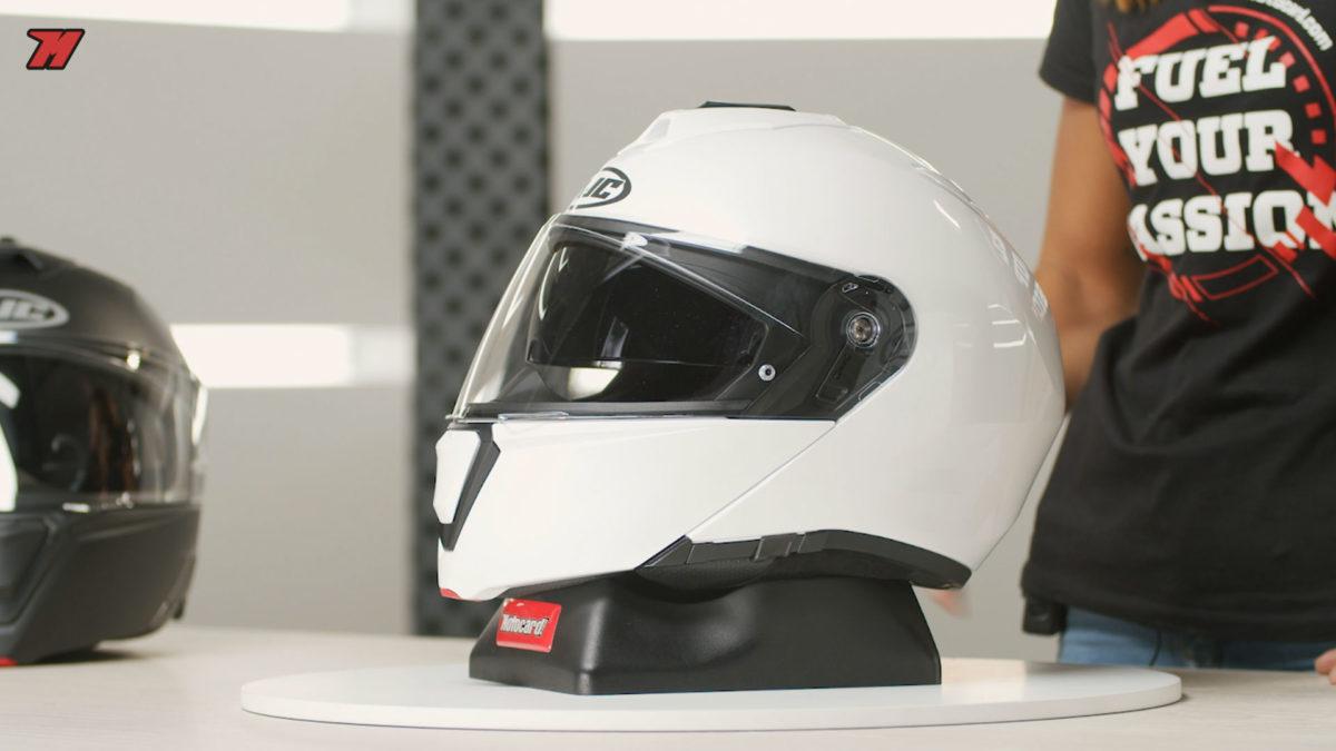Este casco de moto modular cuenta con la doble homologación P/J
