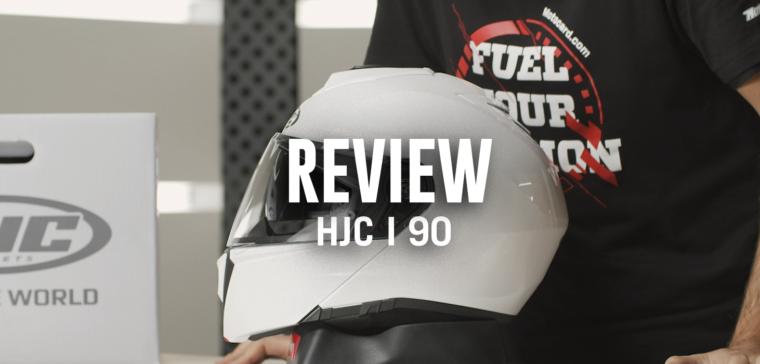 Casco HJC i 90, uno de los mejores cascos de moto modulares del mercado