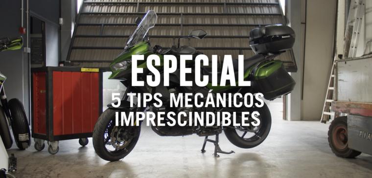 5 reparaciones mecánicas básicas para tu moto
