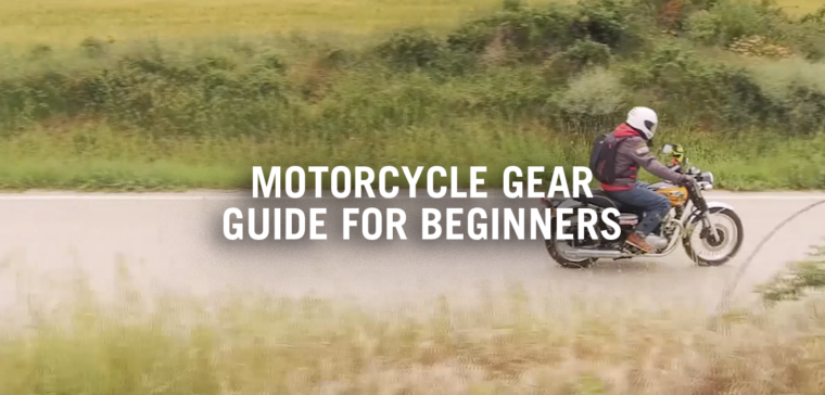 Motorcycle gear guide for beginners