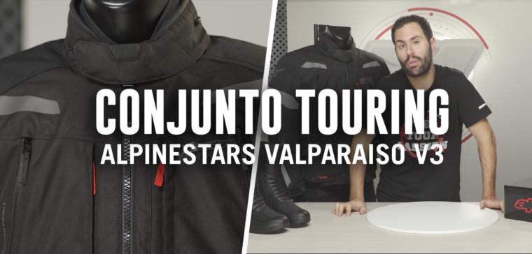 Alpinestars Valparaiso V3 Drystar, un conjunto de moto touring de garantías