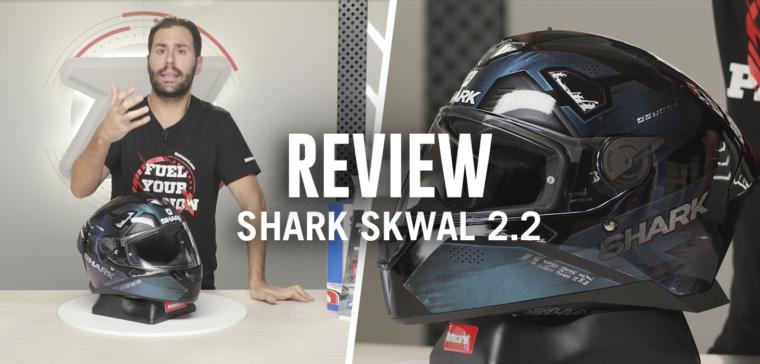 Análisis en vídeo del renovado casco de moto con luces de Shark