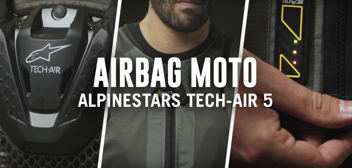 Te explicamos cómo es el nuevo chaleco de moto de Alpinestars.