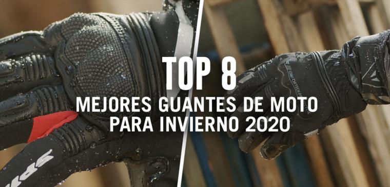 Estos son los 8 mejores guantes de moto para invierno