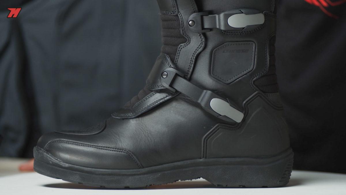 El Gore-tex también está presente en botas de moto