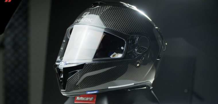This is how the new Shark helmet looks.