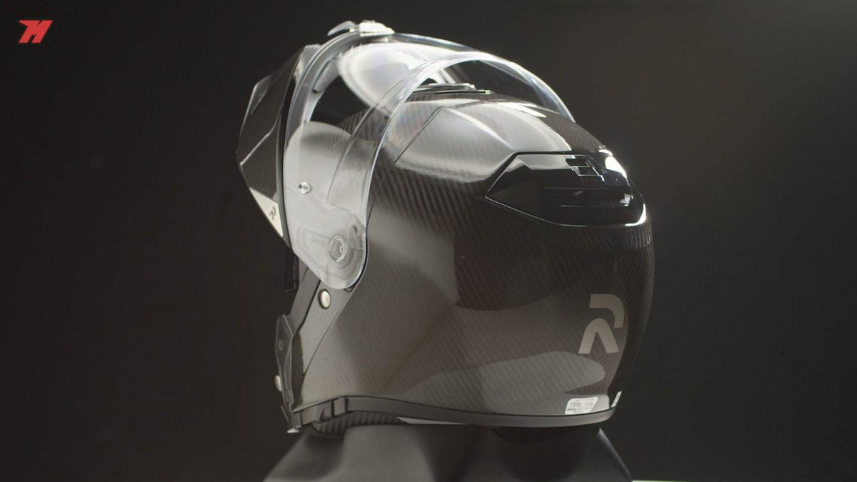 Este nuevo casco modular HJC 90 S tiene la doble homologación