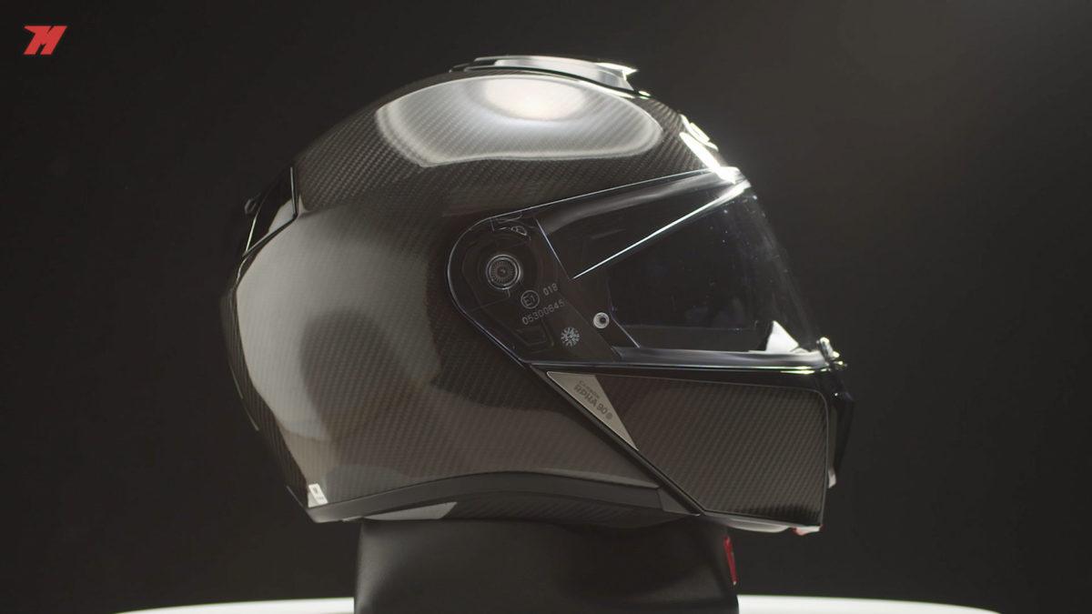 Así es el nuevo casco de moto modular de HJC