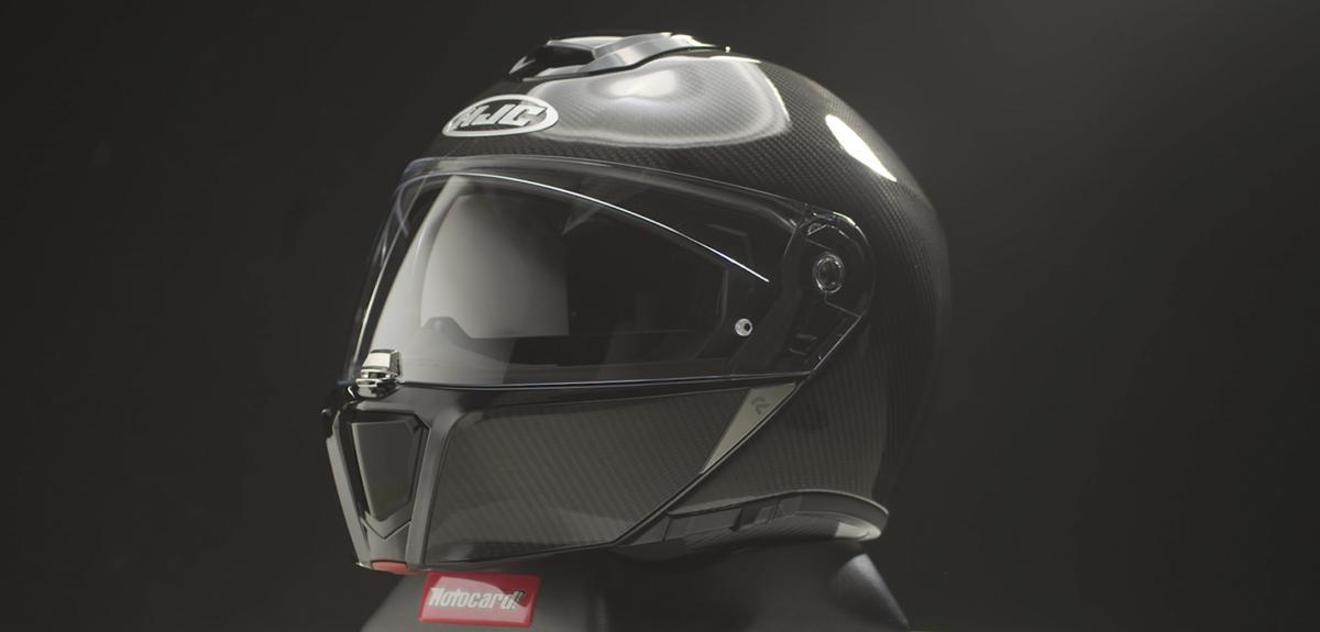 Análisis en vídeo del nuevo casco de moto modular de HJC