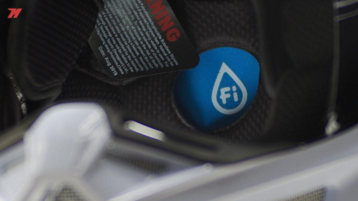 Los acolchados interiores son cómodos y transpirables: lo indispensable par aun casco de este tipo
