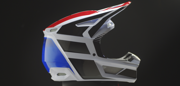 New off-road helmet Fox V2 with great up-grades