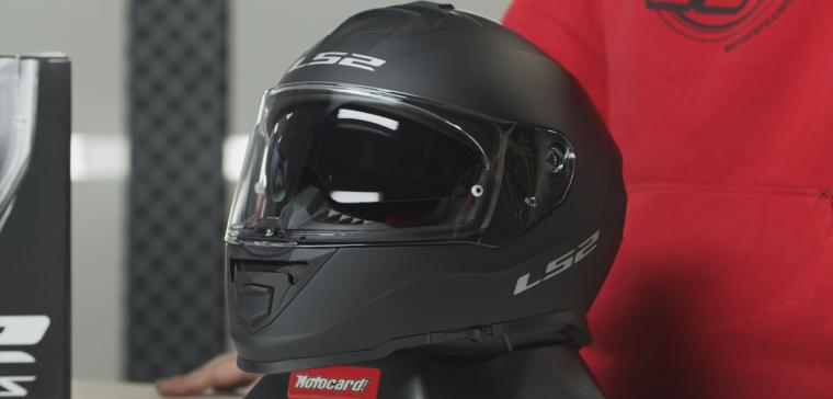 Análisis en vídeo del nuevo casco de moto LS2 FF800 Storm