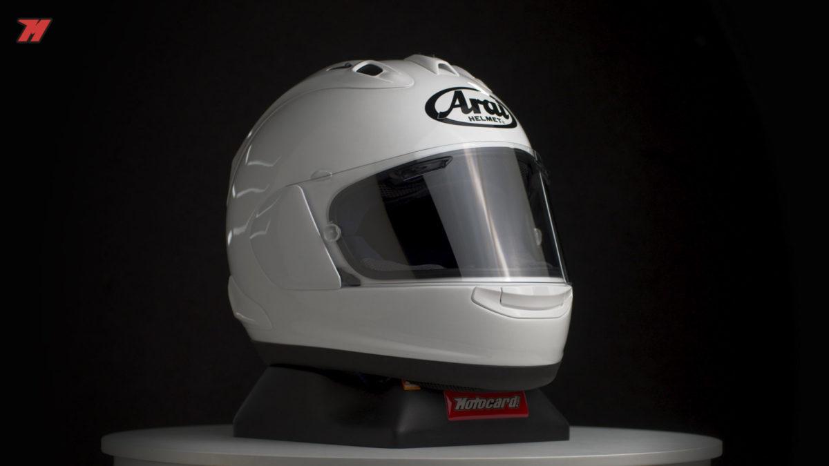 Análisis del nuevo casco Arai homologado por la Federación Internacional de Motociclismo