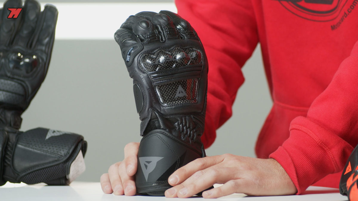 Así lucen los guantes Dainese Druid 3