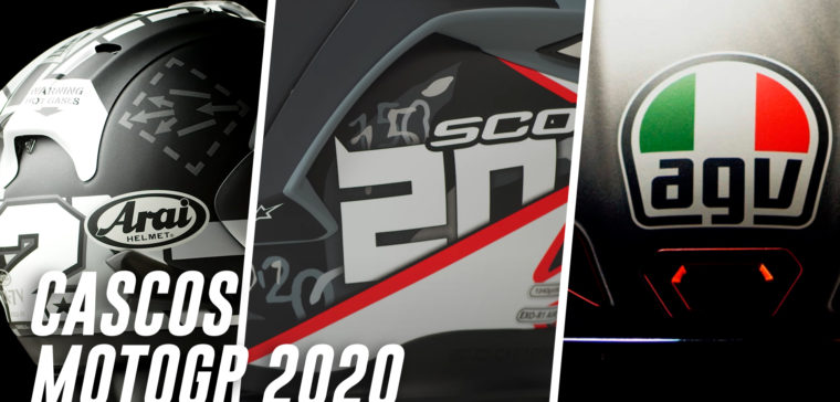 Hacemos un repaso de los mejores cascos de los pilotos de MotoGP