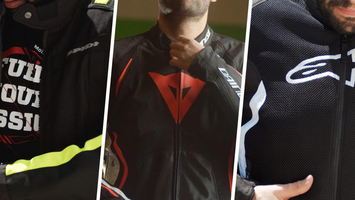 Hacemos un repaso de las mejores chaquetas de moto para verano
