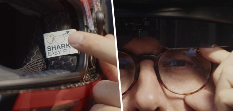 Te explicamos cómo llevar gafas graduadas con el casco de moto