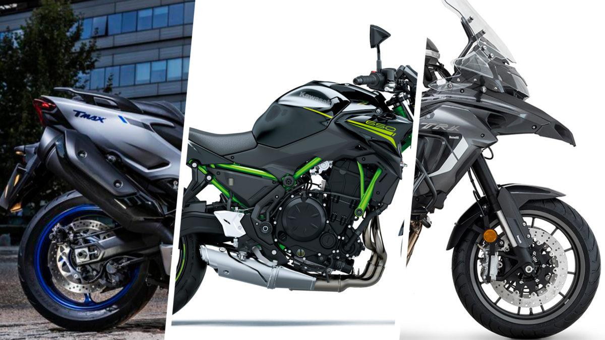 Lista de las mejores motos para el carnet A2