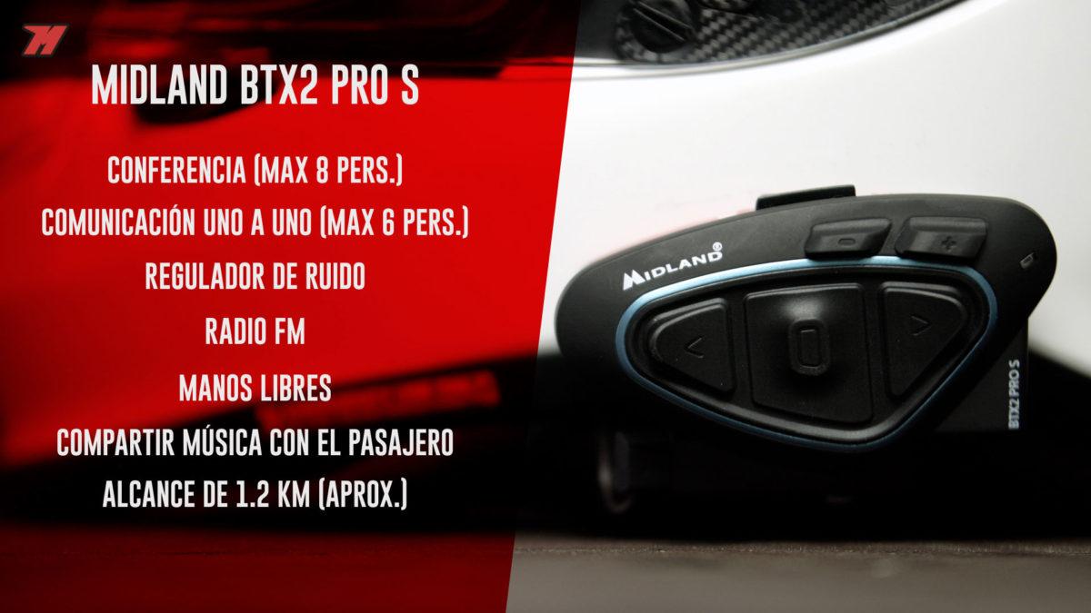 Estas son las principales características del BTX2 Pro S