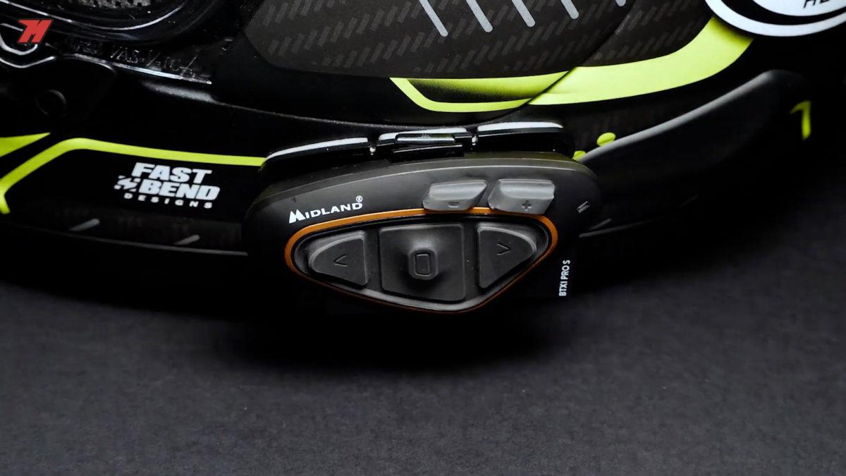 El BTX1 Pro S es perfecto para el pasajero de moto