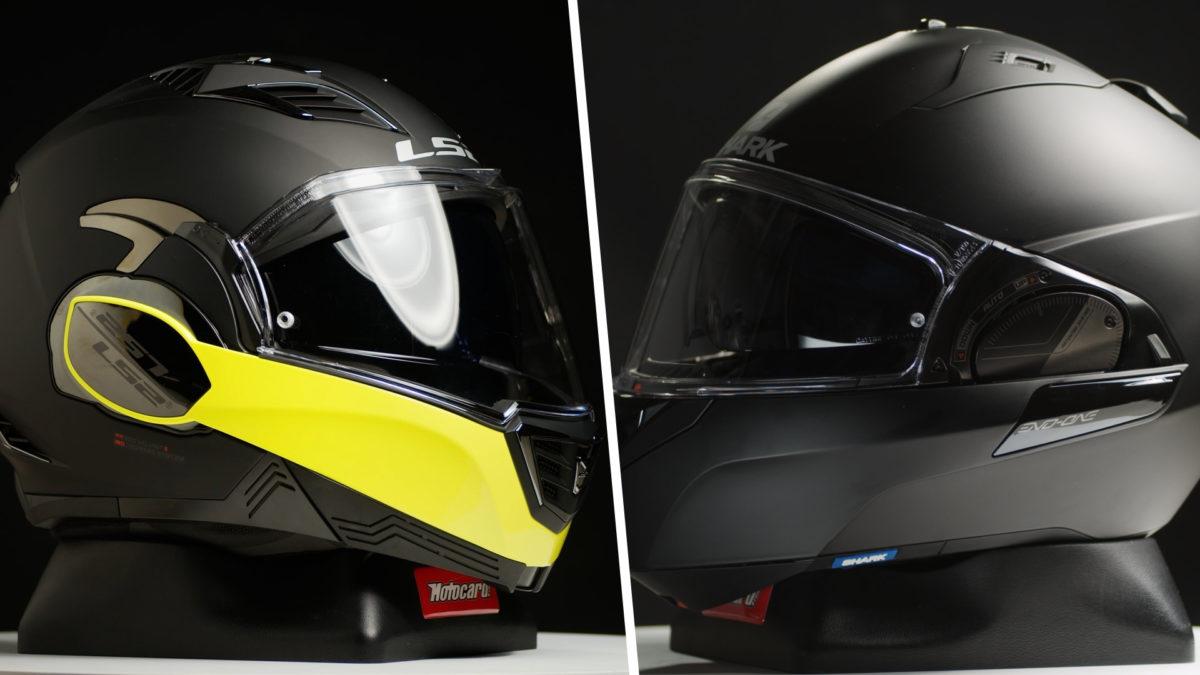 Comparativa del Shark Evo One 2 y el LS2 Valiant. ¿Cuál es mejor?