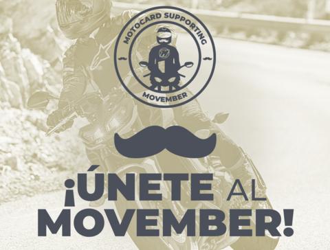 En Motocard recaudamos dinero para la fundación Movember