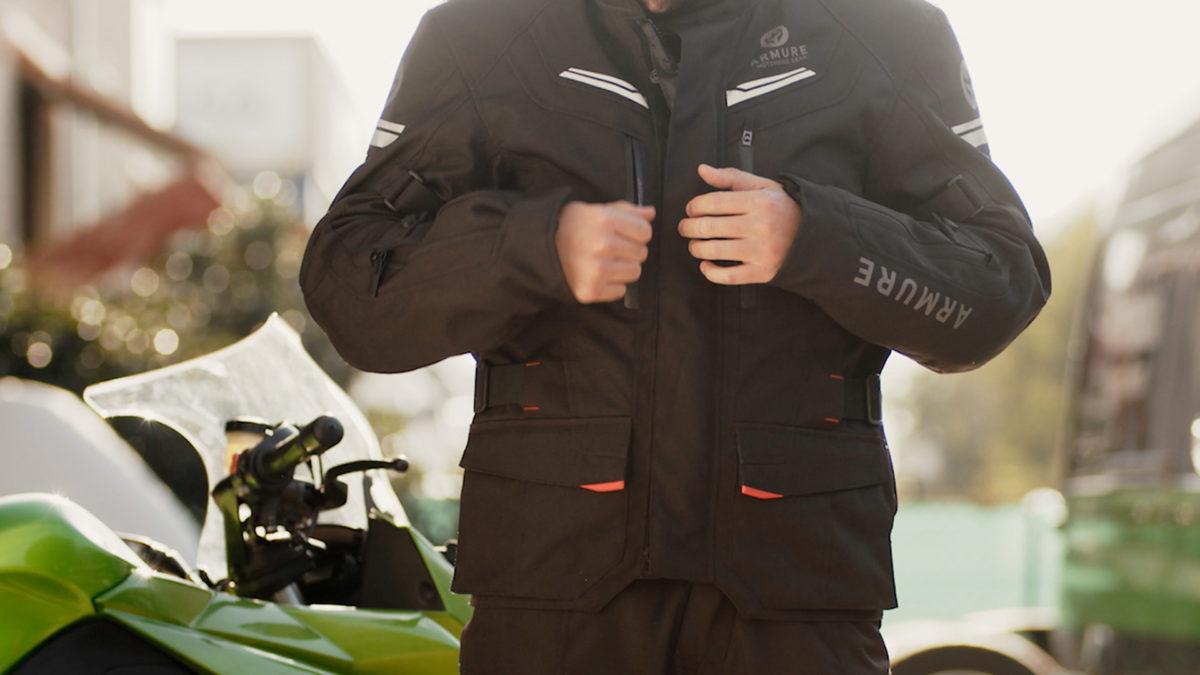 Analizamos la chaqueta Armure Mack