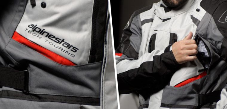 La chaqueta y el pantalón Alpinestars Andes V3 Drystar