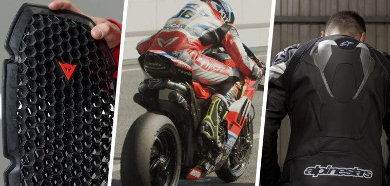 Te explicamos todo sobre la espaldera de moto